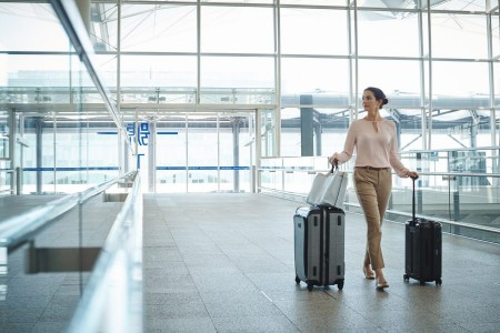 Enjoy Priority Pass Airport Lounge Access when you